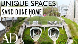 Inside a Sand Dune Converted Into an Oceanfront Home | Unique Spaces | Architectural Digest