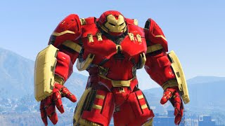 CRAZY HULKBUSTER MOD! (GTA 5 Mods Funny Moments)