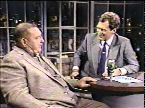 Art Donovan on Letterman, 1/14/88 Part 2