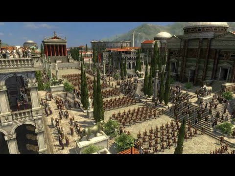 Grand Ages: Rome Gameplay