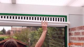 pose d un store enrouleur dans une veranda comment faire