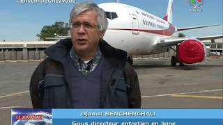 Reportage sur la base de maintenance d'Air Algérie à Dar El Beida - Alger