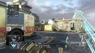 I hit somone with a tomahawk across the map on call of duty black ops 2
