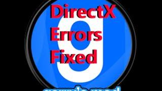 Garrys Mod DirectX Fixedd3dx9 40 dllError
