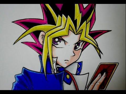 Como Dibujar A Yami Yugi De Yu Gi Oh Youtube