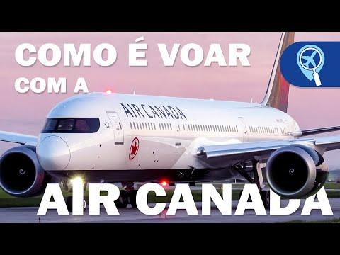 Como é voar com Air Canada de São Paulo para Toronto na classe econômica