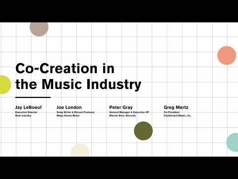 Co-Creation in the Music Industry