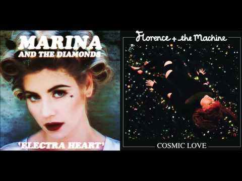 Valley Of Cosmic Love  Florence + The Machine & Marina and the Diamonds Mashup