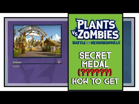 Plants VS Zombies BFN SECRET Medal Weirding Woods (?????? Medal)