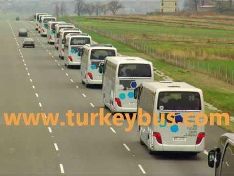 Istanbul Bus Rental Coach Hire Company in Turkey