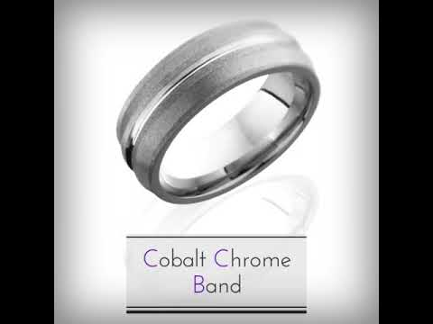 Cobalt Chrome Rings Collection by Magic Hands Jewelry
