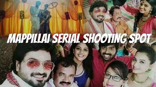 Mappillai Serial Shooting Spot Video   RJ Senthil   Sreeja   Vijay TV   Senthil & Jaya