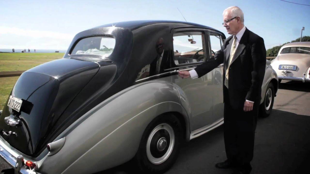 Clic Bentley Wedding Car Sydney Two Tone Silver
