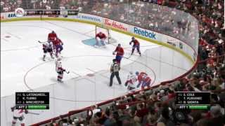 NHL 13 - Montréal Canadian season match 1 - CH vs OTT