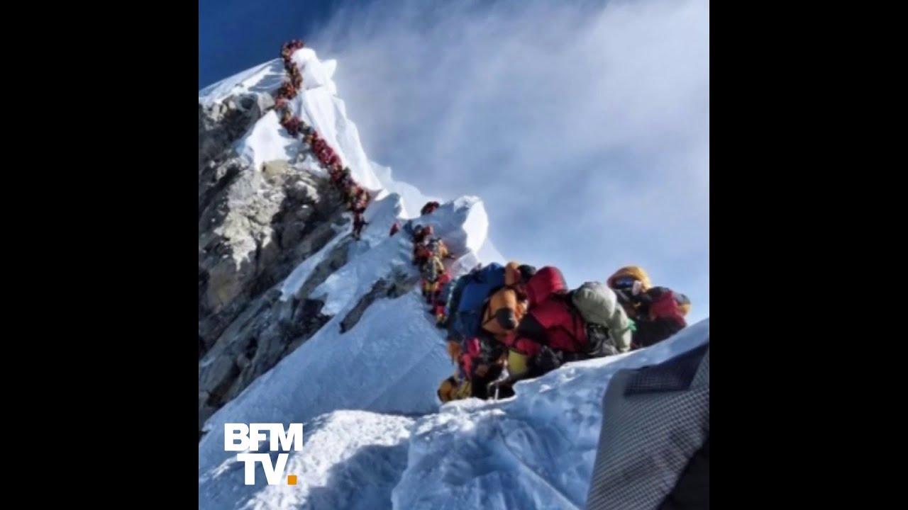 Ces embouteillages au sommet de l'Everest ont causé plusieurs morts