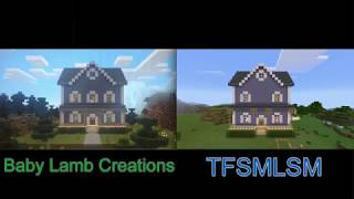 Bear in the Big Blue House: The Goodbye Song - Minecraft Version (BLC vs. TFSMLSM)