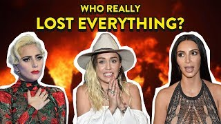 Celebs Who Became Homeless Due To California Wildfires: Lady Gaga, Miley Cyrus, Kim Kardashian