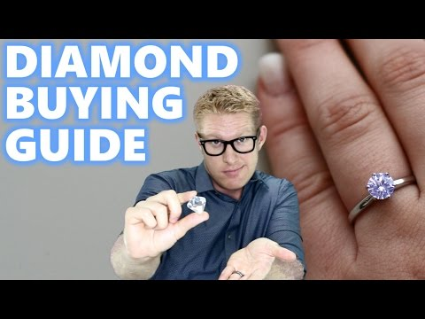 Engagement Ring Diamond Size Comparison How to Buy 1 Carat on Finger Hand