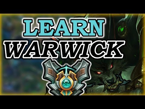 HOW TO PLAY WARWICK LIKE A PRO IN 14 MINUTES - Warwick Jungle Commentary Guide - League of Legends