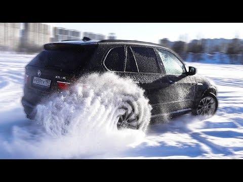BMW X5M после аварии и снова ДРИФТ