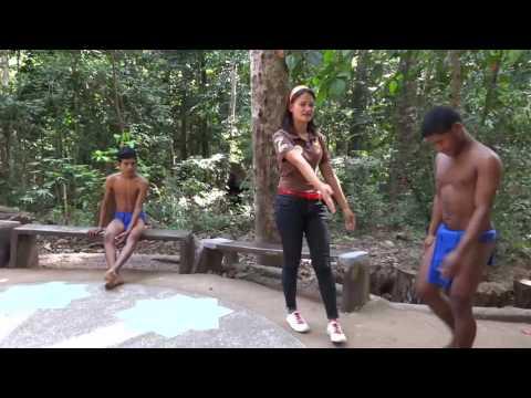 Native Aeta Brothers The Monkey Dance Zoobic Safari Adventure Park MT