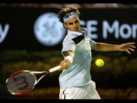 Federer Destroys Roddick - Australian Open 2007 [HD]
