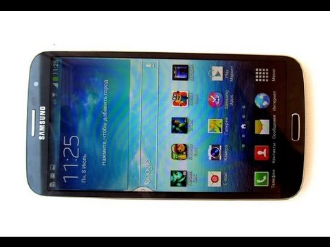 Samsung Galaxy Mega 6.3 - мега смартфон с 6,3 экраном - видео обзор