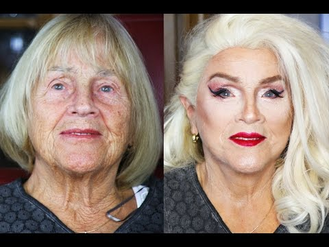 Oma Makeover Challenge | 80-Jährige Makeup Transformation | Candy