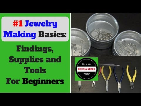 Jewelry Making Basics - Findings and Supplies for Beginners