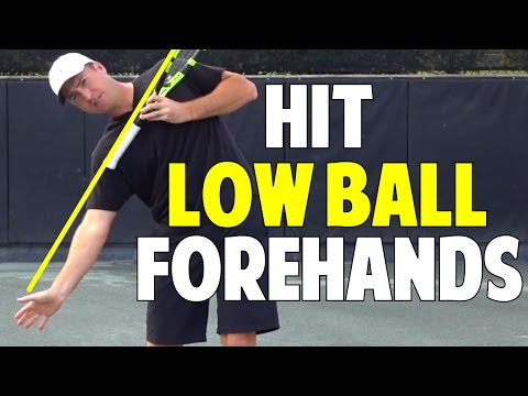 Secret to Handle Low Balls on the Forehand