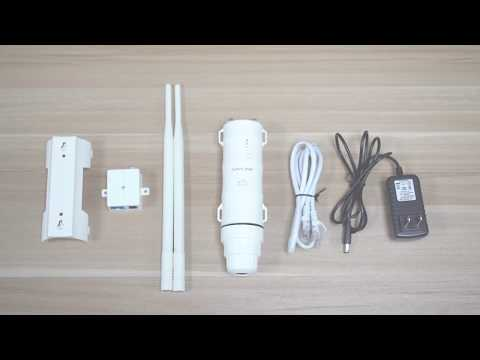 AP/Repeater Mode Installation Guide Wavlink AC600 Outdoor High Power WiFi AP/Extender WN570HA1