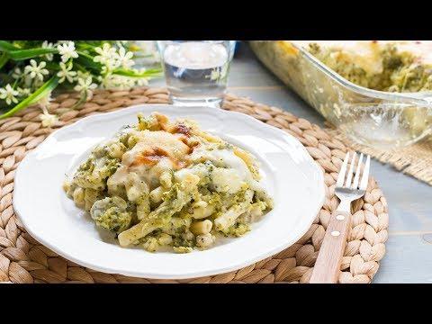 pasta-al-forno-salsiccia-e-broccoli-|-ricetta-pasta-al-forno-facile-|-55winston55