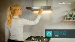 Gorenje Hood Tips&Tricks: How to operate the hood with touch on inox