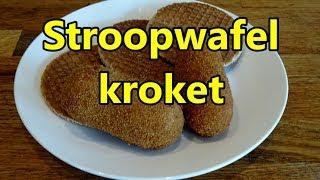 Stroopwafel kroket en stroopwafel bitterbal