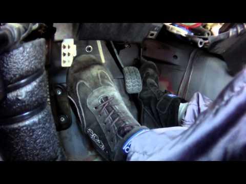 Race car driver heel-toe & footwork - Spec Miata