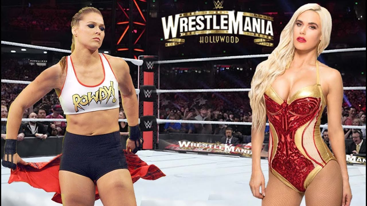Ronda Rousey vs. Lana ll Full Match