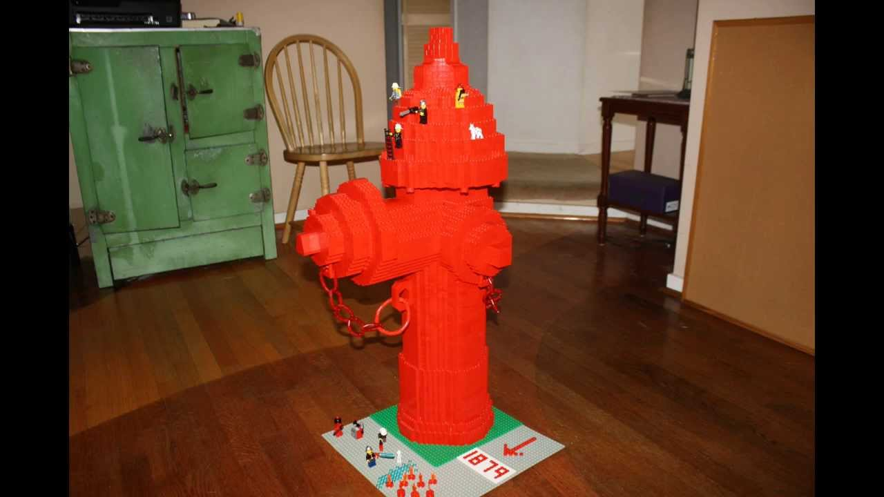 how to build a fire hydrant in minecraft