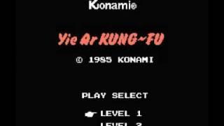 Yie Ar Kung Fu (NES) Music - Fight Theme