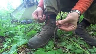 Простейший способ надежно завязать шнурки.