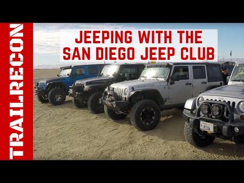 San Diego Jeep >> Jeeping With The San Diego Jeep Club Youtube