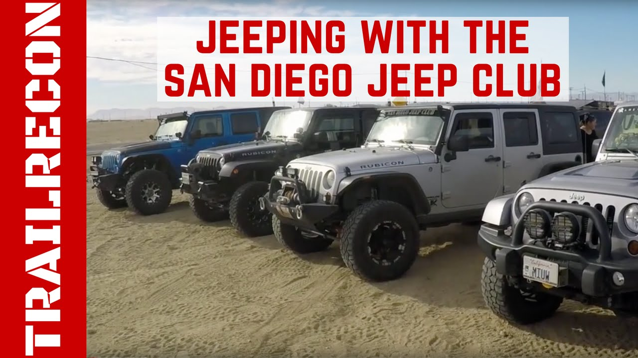 Good Jeeping With The San Diego Jeep Club   YouTube
