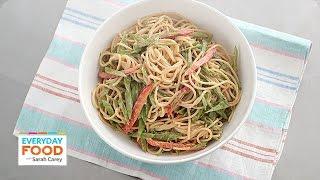 Homemade Sesame Noodle Recipe - Everyday Food With Sarah Carey