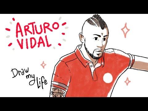 ARTURO VIDAL - Draw My Life