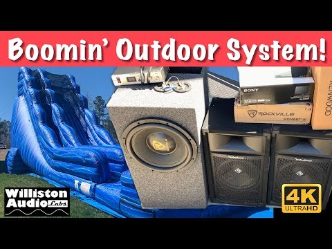 Using Car Audio Outside? Pro Audio From Car Audio, Is It Possible?