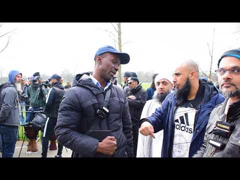 Be Sincere!  Hashim vs Christan l Speakers Corner l Hyde Park