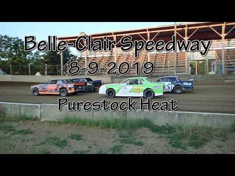 Belle Clair Speedway Puresock Heat August 9 2019