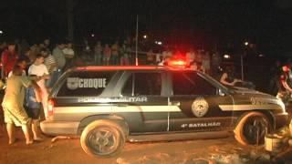 Maurão morto a tiros Maringá Urgente - sbt