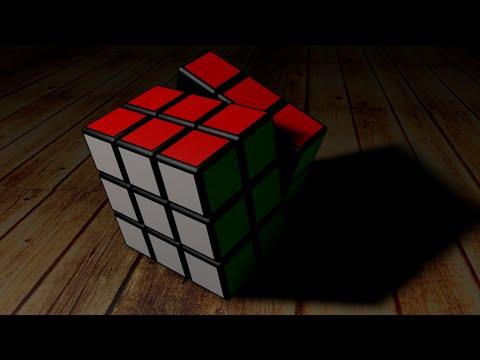 Making A Realistic 3d Rubik S Cube Wallpaper In Cinema 4d
