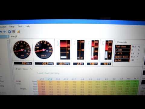 Turbo Protege5 Haltech Sprint 500 Idle