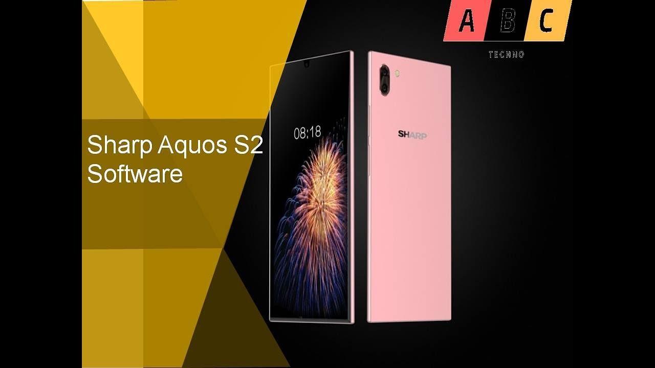 Sharp Aquos S2 Software - YouTube